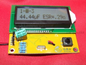 Transistor Tester Capacitor ESR Inductance Resistor LC Meter NPN PNP Mosfet  eBay