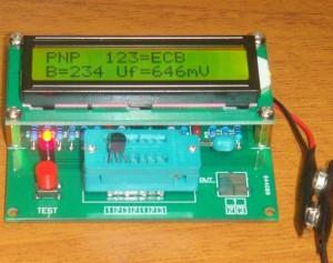 1pc Transistor Tester Diode Triode Capacitance ESR Meter MOS PNP NPN RC-L M328  eBay