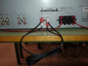 Comprobación de altavoces y equipos de audio con el método del cruce o intercambio