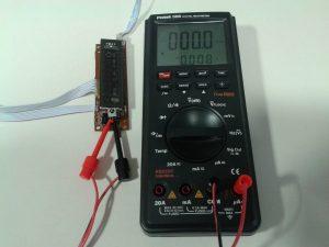 Comprobación de un Receptor de IR con un Mando a Distancia midiendo Frecuencia-1