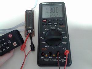 Comprobación de un Receptor de IR con un Mando a Distancia midiendo Frecuencia-2