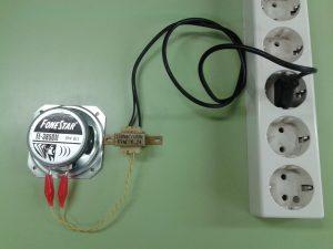 Comprobación de un Altavoz Dinámico (bobina móvil) con un Transformador