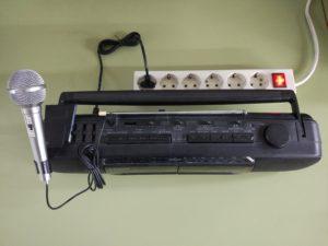 Comprobación de un Micrófono Dinámico (bobina móvil) con la Salida de Auriculares de un Equipo de Audio
